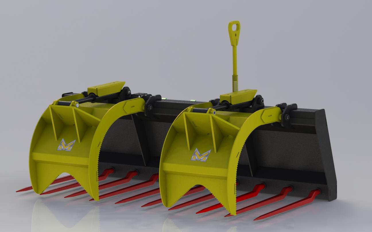 Utility Manure Grapple - MUMG