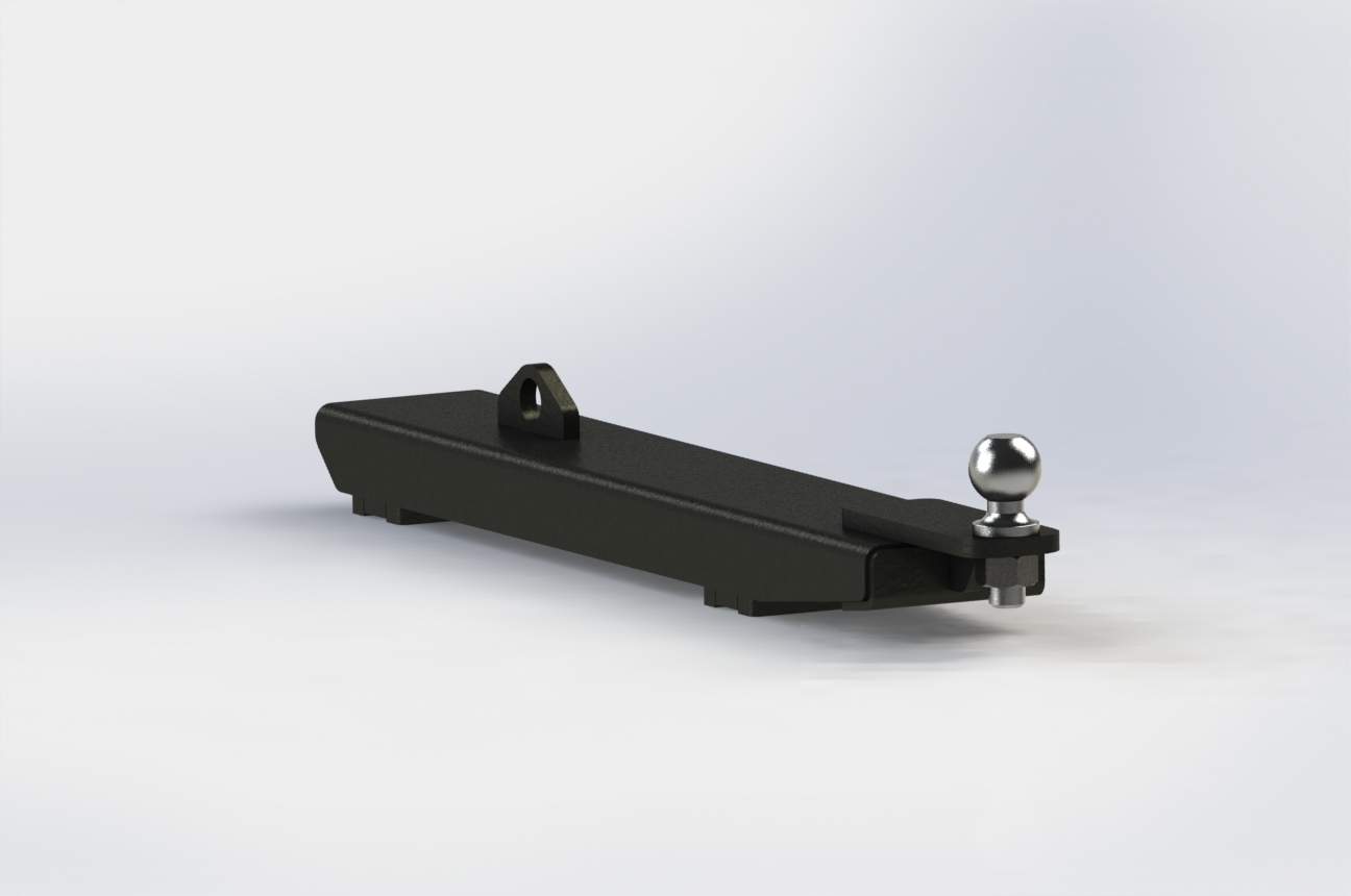 Fork Trailer Hitch