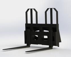 Heavy Duty Pallet Forks - MHDPF