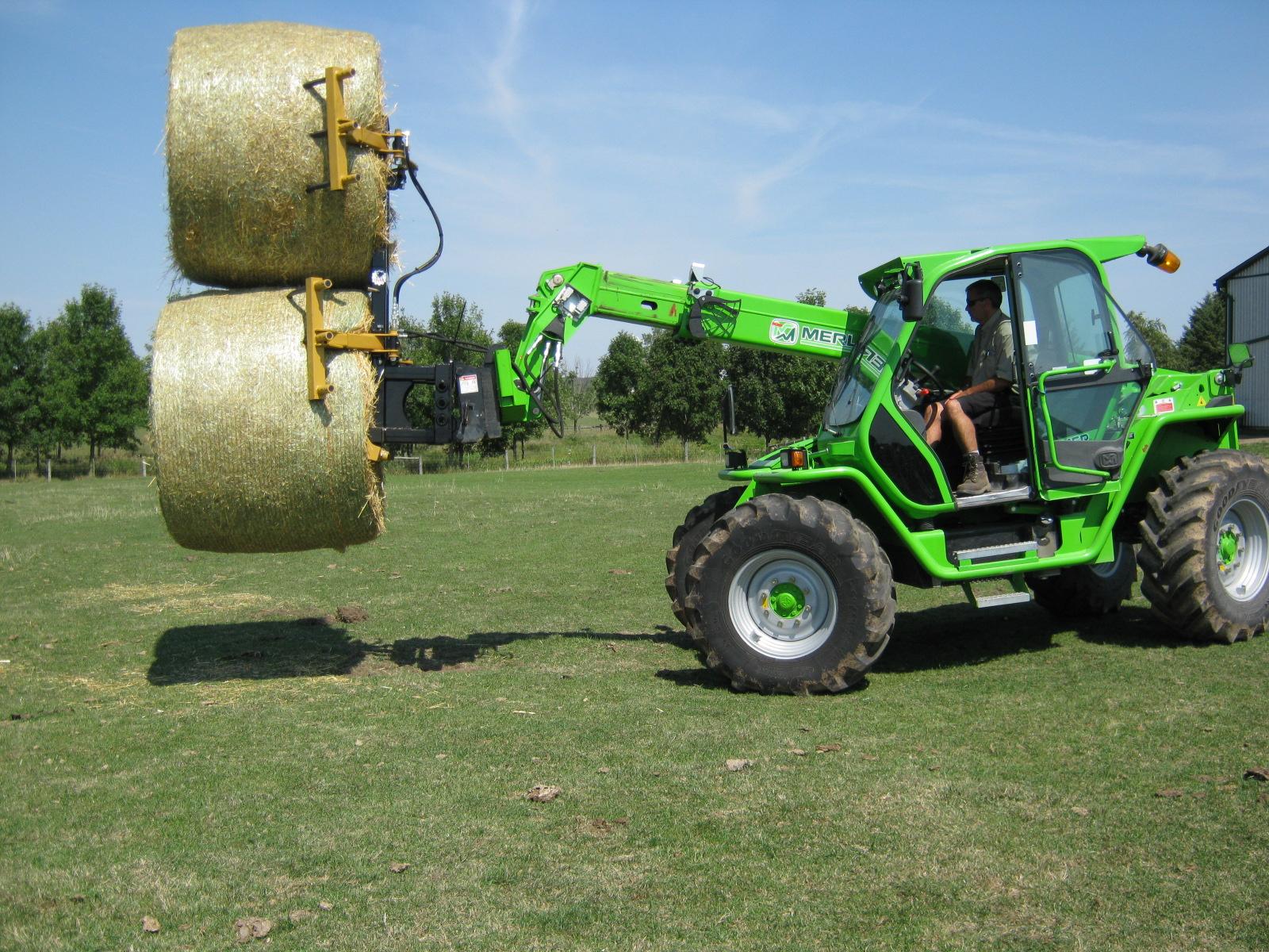Large Double Bale Grabber - MLBG2