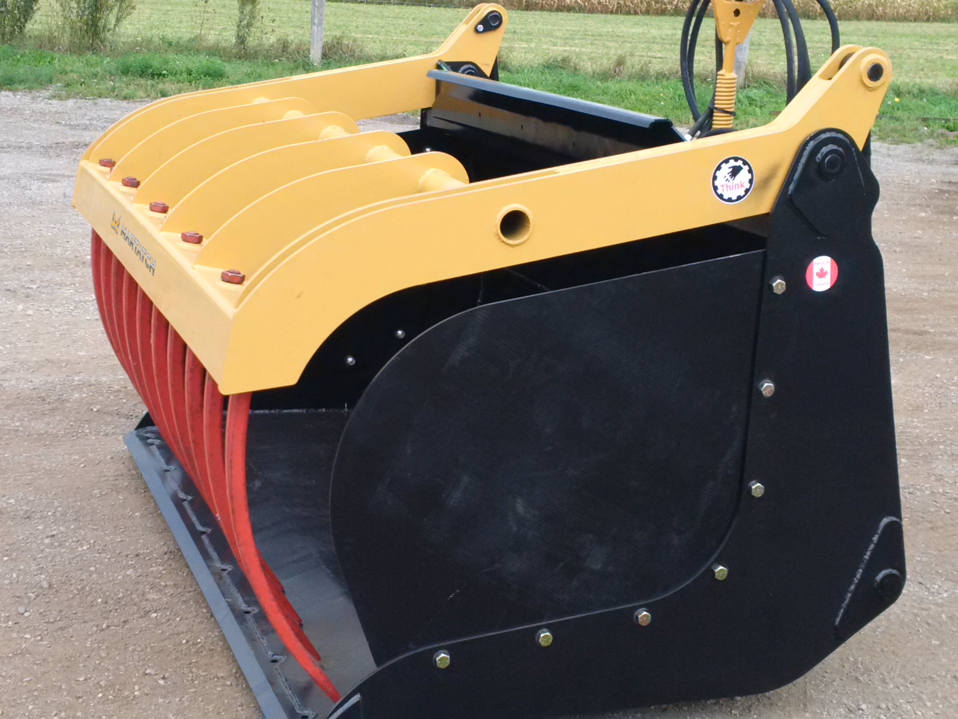 Telehandler Grapple Bucket - MBGT