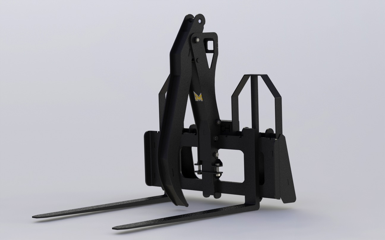 Pallet Fork Add-On Grapple - GAA