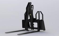 Pallet Fork Add-On Grapple - GAA
