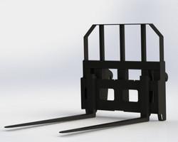 Heavy Duty Pallet Forks - MHDPFC2