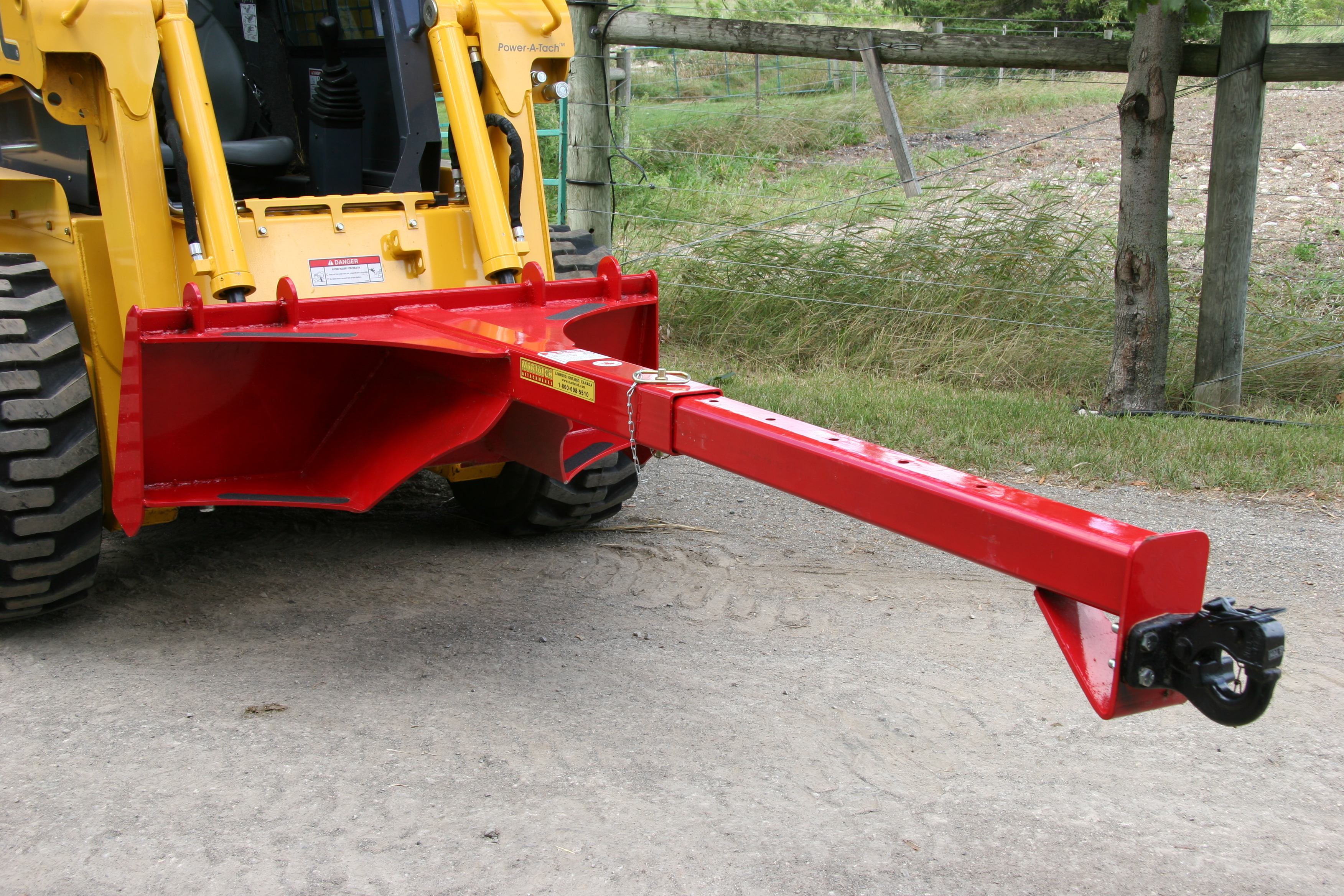 Telescopic Lift Boom