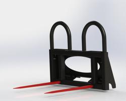 Bale Spear -MBSR-UQA w/ Short Frames