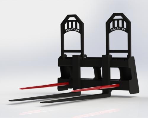 Pallet Fork/Bale Spear Combo