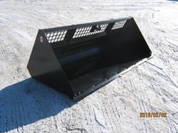 Skid Steer Snow Bucket - MBR96HV-GB