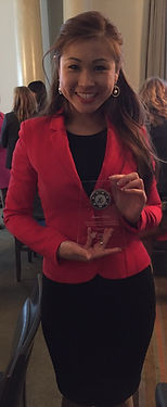 Annie Chou win Women of Promise Award from the Vancouver Board of Trade