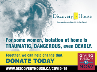 MEDIA RELEASE: GIVING TUESDAY NOW - INVEST IN A FUTURE FREE OF DOMESTIC VIOLENCE