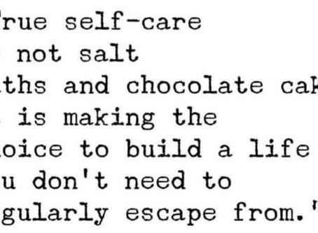 Self-Care Challenge.