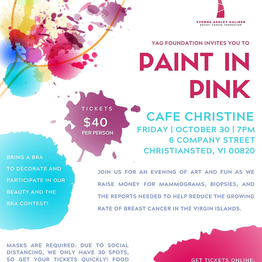 Paint in Pink with YAG Foundation