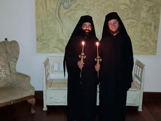 Monastic Tonsure of Fathers Paisios and Joseph
