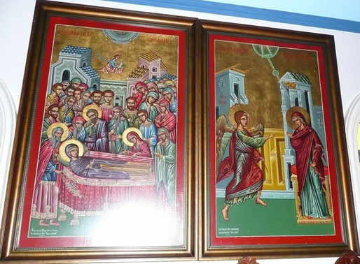 Divine Liturgy for the Dormition of Our Most Holy Lady, the Theotokos