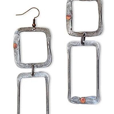 Snarewire Ladder Earrings