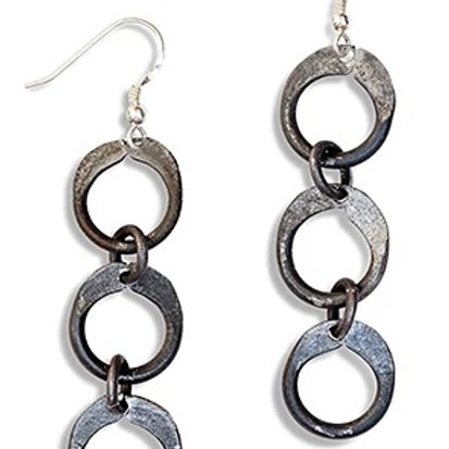 Snarewire Chain Earrings