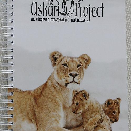 A6 Askari Journal - Lioness & Cubs Print