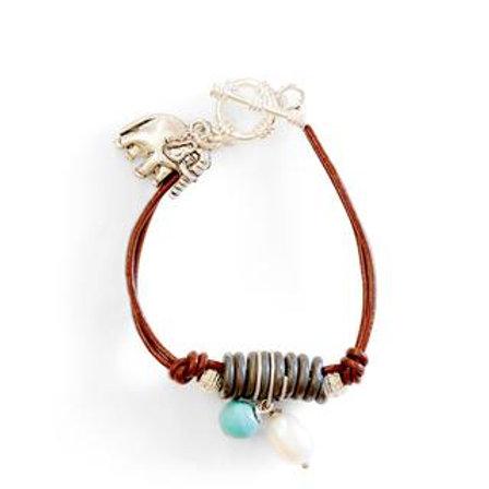 Wood & Snarewire Bracelet