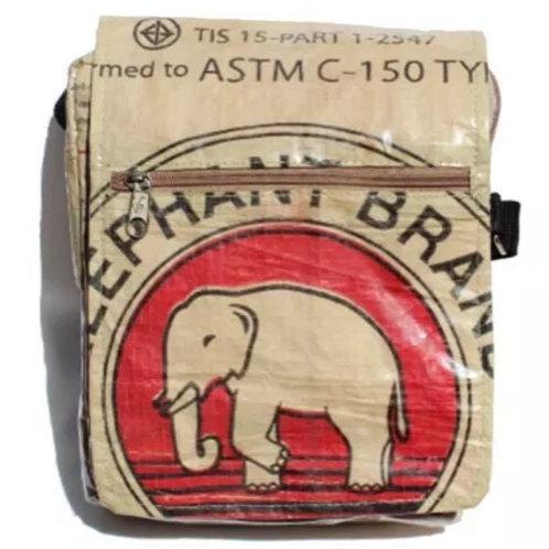 Elephant Brand Messenger Bag - Small