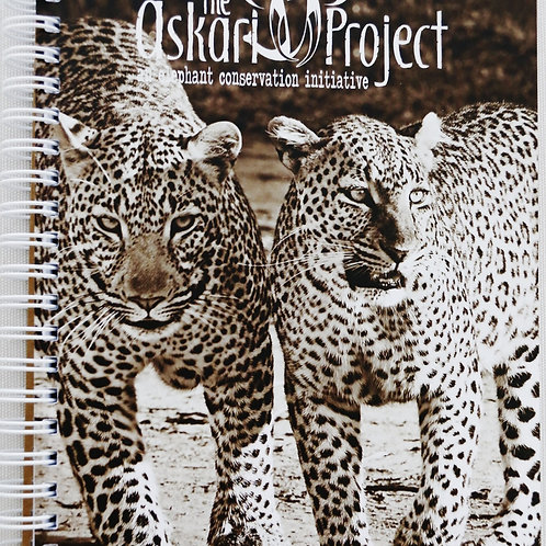 A6 Askari Journal - Leopards Print