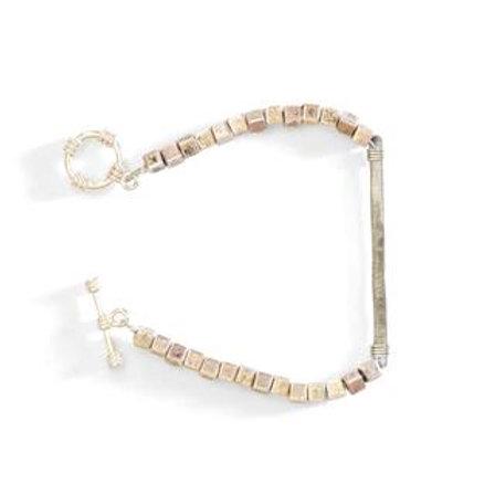 Square & Snarewire Bracelet