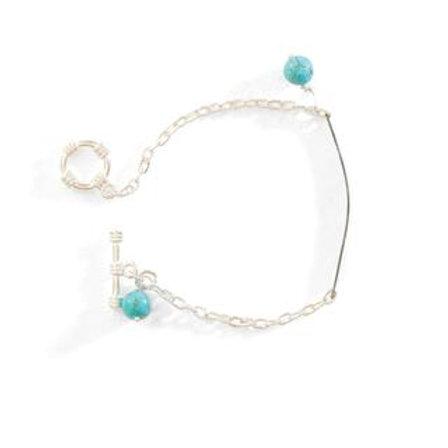 Hammered Snarewire Bracelet