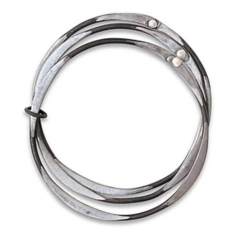 Snare Circle Trio Bracelet