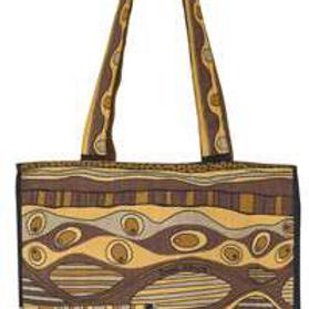 Carrier Bag - Elephant Retro Print