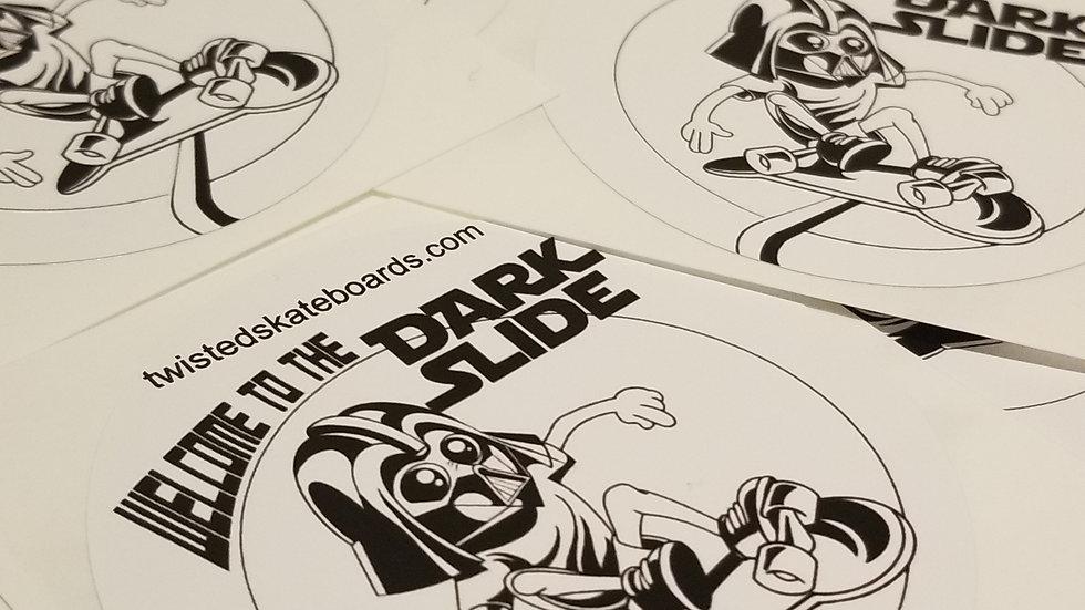 Dark Slide Stickers