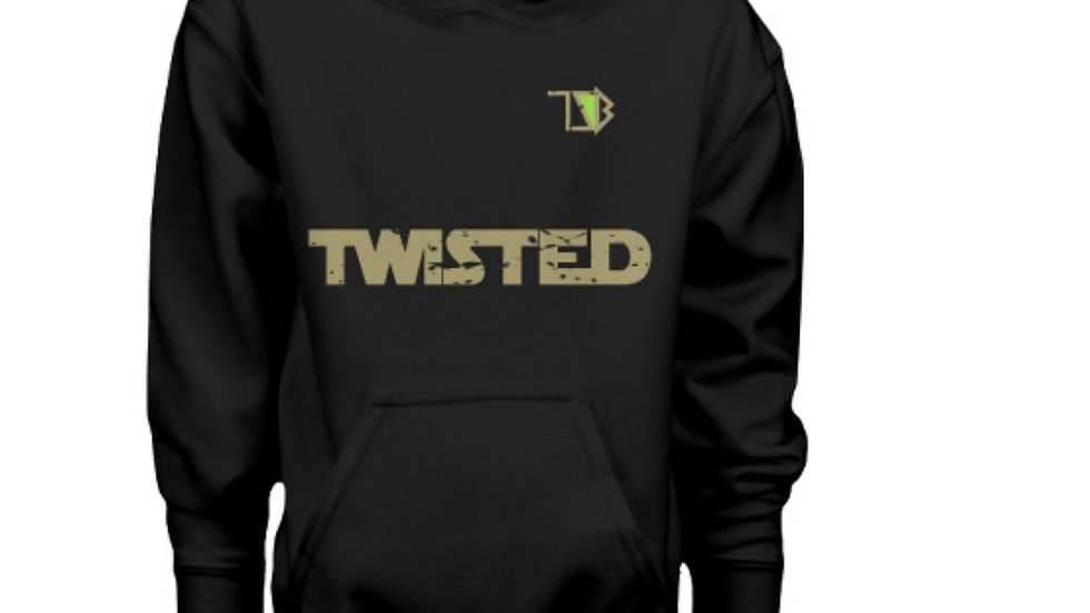 Twisted Darkslide Hoodie (Black)