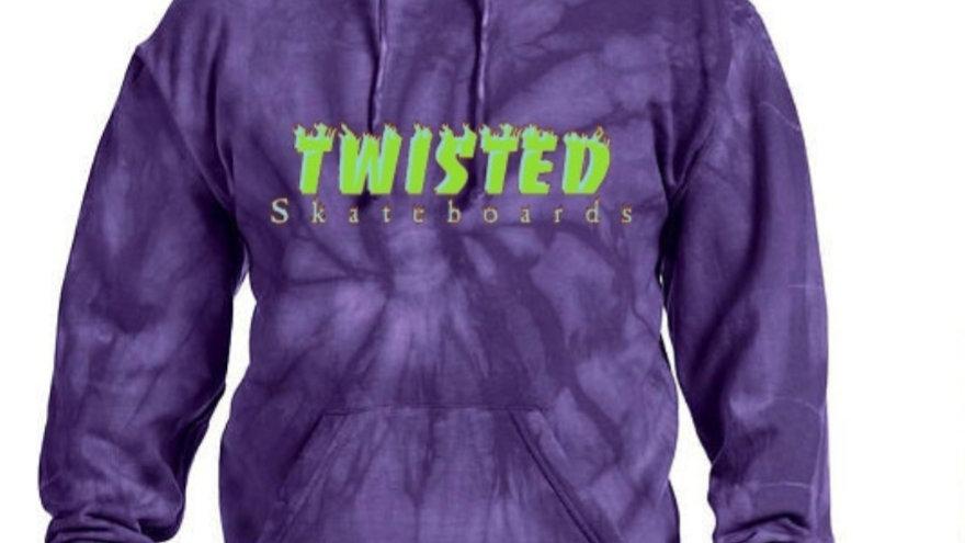 Twisted Hoodie (Tye Dye)