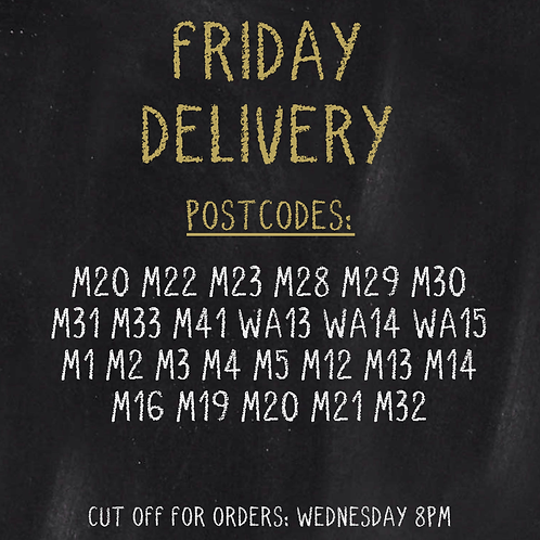 FRIDAY DELIVERY