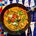 VEGETABLE RED THAI CURRY