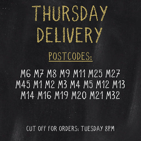 THURSDAY DELIVERY