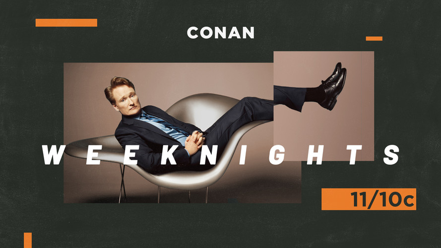 Conan Show Package Designs Version 1