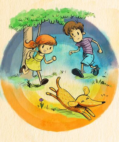 Children's Xyzal Illustrations