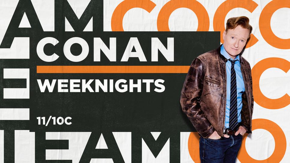 Conan Show Package Designs Version 3