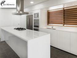 Cozinha Ilha Nanoglass