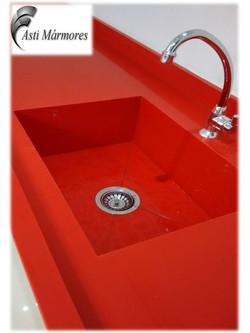 Quartzo Stone Vermelho Clean