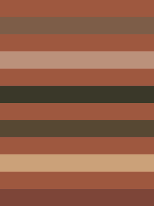 DUSK DESERT STRIPES