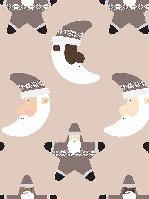 Santa Icons - Nude