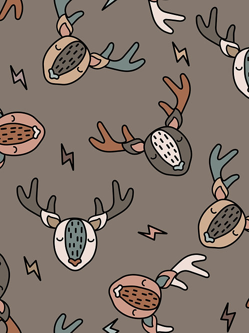 Scandi Deer -Brown