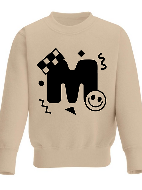 Retro Shapes Monogram Sweatshirt