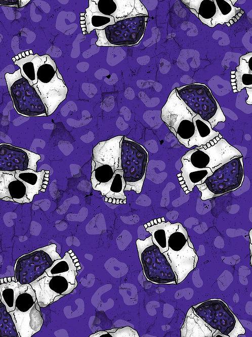Leopard Skulls - Purple