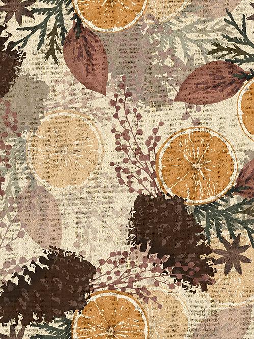 Botanical Autumn - Oranges