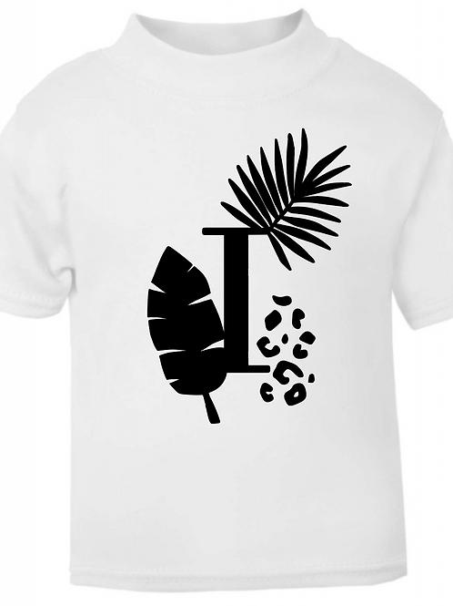 Tropical Leaves Monogram T-shirt