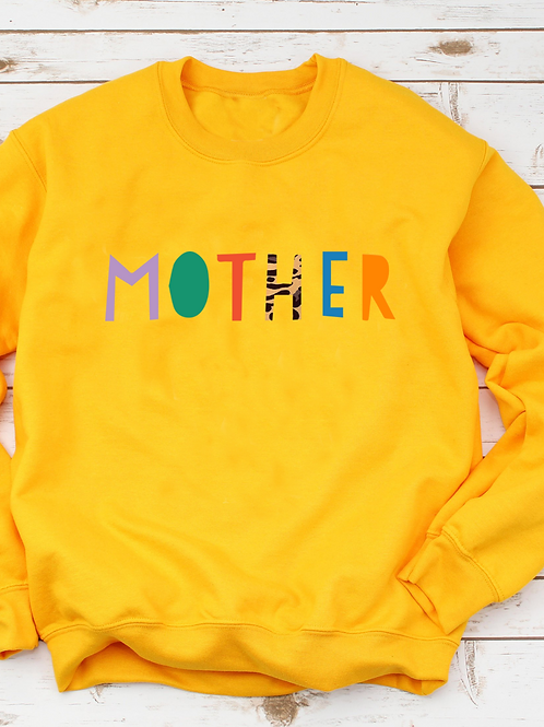 Rainbow Mother Crew Neck Jumper
