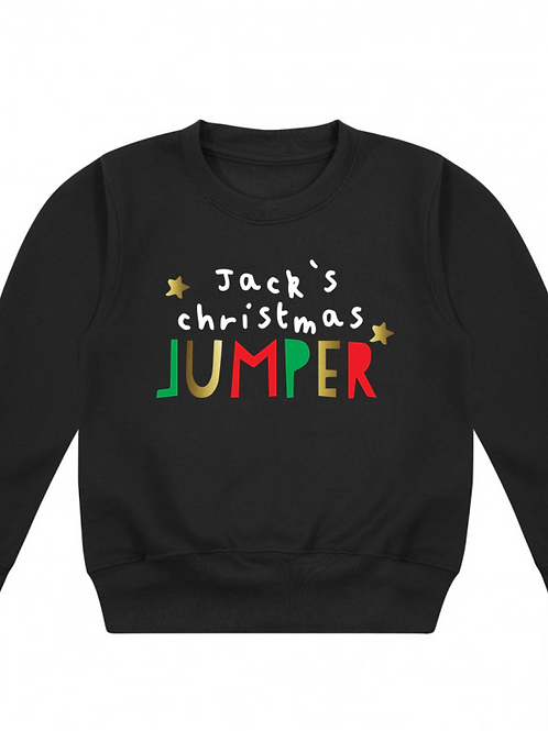 Personalised Christmas Jumper