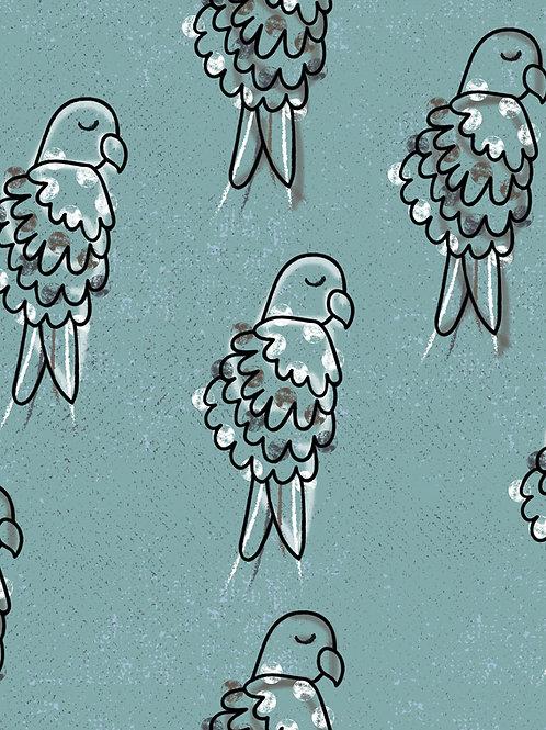 Parrots - Blue