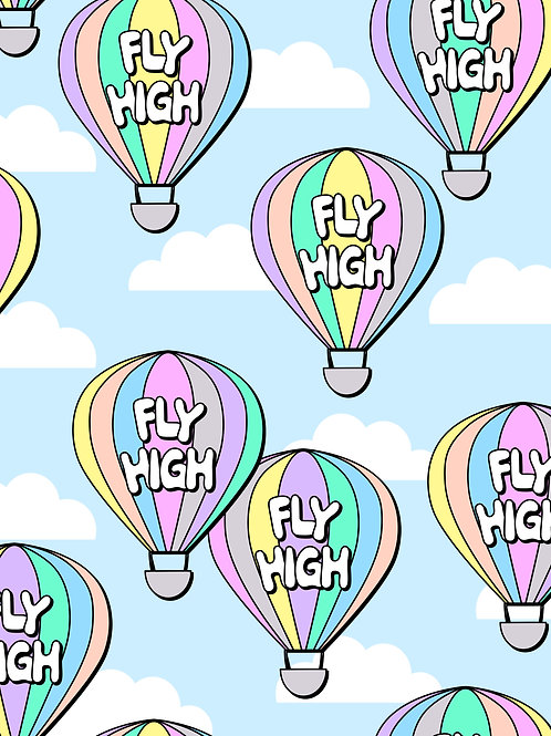 Fly High - Pastel